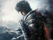159576 Berserk - Blood Fight Sword Game Wall Print Poster CA