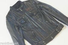 Harley Davidson Women's H-D Denim Water Resistant Casual Jacket 97100-16VW M