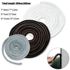 Tape Brush Self Adhesive Door And Window Seal Sealing Strip Pile Weatherstrip