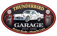 1956 Ford Thunderbird Hardtop Garage Sign Wall Art Graphic Sticker