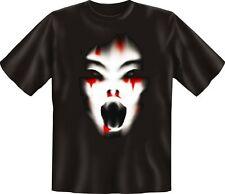 T-Shirt Cry Zombie Halloween Horror Fun Shirts Birthday Gift Cool Printed