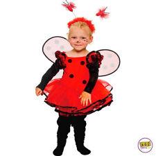 Mottoland Kinder Kostüm Baby Marienkäfer Kleinkind Mädchen Kleid Kita Fasching