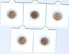 BRD  1 Cent ADFGJ  stempelglanz  (Wählen Sie unter: 2002 - 2017)