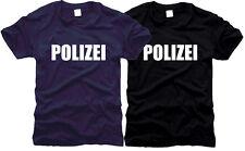 Polizei German Police - T-Shirt, Gr. S bis XXL