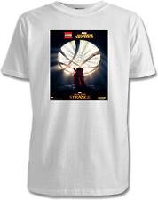 Lego Dr Strange Childrens T-Shirts - 2 Designs / 7 Colours / Sizes 1-15