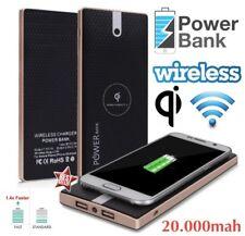 POWERBANK Qi + Ricarica Wireless Caricabatteria per HUAWEI P8 LITE  P10 LITE