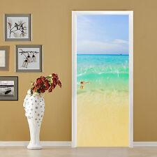 3D Yellow beach 33 Door Wall Mural Photo Wall Sticker Decal Wall AJ WALLPAPER CA