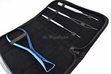 Extensions de cheveux bleu Pince Kit pour enlever Micro anneaux et fusion Colle
