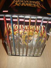 BOX COFANETTO 9 DVD WOLVERINE AND THE X-MEN NUOVO PANINI OPERA COMPLETA
