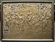 Primavera nach Botticelli. 925 Silberplatte.