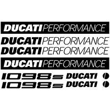MAXI KIT DUCATI PERFORMANCE 1098S Stickers Autocollants Adhésifs Moto Qualité