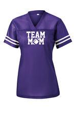 Customized Team Mom Football Ladies PosiCharge® Replica Jersey XS-4XL