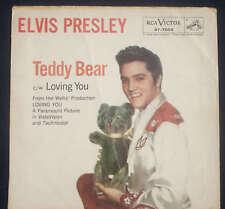 ELVIS PRESLEY TEDDY BEAR C/W LOVING YOU SLEEVE ONLY