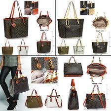 Ladies Handbags Women Designer Bags Fashion Tote Shoulder Celebrity Faux Leather