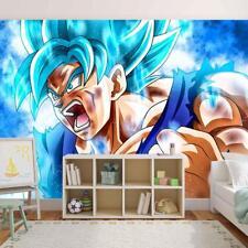 Dragon Ball Z Son Goku Photo Wallpaper Woven Self-Adhesive Wall Mural Art M95