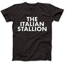 Según lo usado por Johnny dirige el italiano Semental Camiseta 100% Algodón Premium