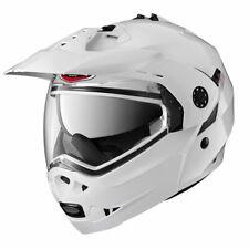 Caberg Tourmax Flip Front DVS Motorcycle Motorbike Helmet - White New