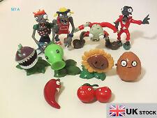 Plantas Vs Zombies Personaje Figura Fija-seis diferentes conjuntos-Reino Unido Vendedor
