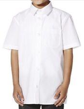 Boys School Short Sleeve Shirt - White sizes Age 3-17 Uniform
