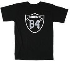 """Antonio Brown Oakland Raiders """"AB84 Logo"""" T-Shirt"""