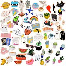 Cute Cartoon Enamel Piercing Brooch Small Pin Collar Badge Corsage Women Gift