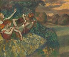 "Edgar Degas : ""Four Dancers"" (c.1899) — Giclee Fine Art Print"