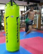 GENUINE Fairtex Muay Thai Kick Boxing K1 MMA 7ft Pole Heavy Bag HB7 UnFilled