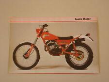 RITAGLIO DI GIORNALE 1981 MOTO FANTIC TRIAL 200