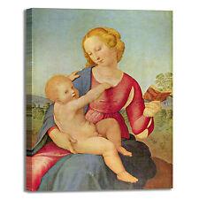 Raffaello Madonna 1 design quadro stampa tela dipinto telaio arredo casa