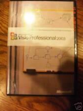 Microsoft Visio Professional 2003, Full, Retail, SKU D87-01532