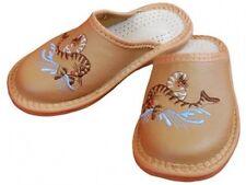 Kinder Hausschuhe - Größe 27-34 - Echtleder - Latschen,Pantoffeln - YE02