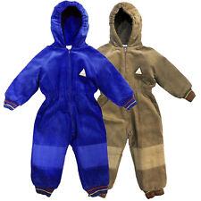 Isolamento Termico Imbottito Bambini Tuta Da Neve Inverno Caldo Bambini Bambine Baby All-in-One 6-24M UK