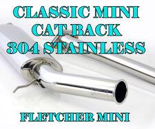 Mini Side Exit Exhaust by Fletcher Mini & CAT LINK PIPE       Z1627/6 & SP676FR