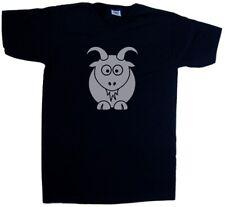 Cartoon Goat V-Neck T-Shirt
