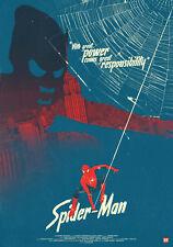 Spiderman Duende Verde Marvel Movie Poster Print T661