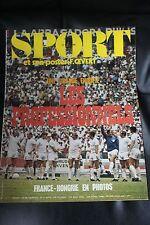 Sport et son poster - N°36 - Octobre 1971 - Les Professionnels - France Hongrie