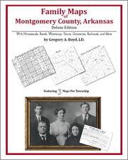 Family Maps Montgomery County Arkansas Genealogy Plat