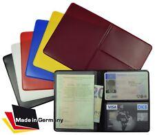 KFZ Schein Schutzhülle NEU Fahrzeugschein Mappe Etui Ausweis Scheckkartenhülle