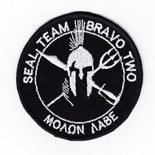 DEVGRU NSWDG SEAL TEAM BRAVO TWO Sparta Morale Embroidery Patch