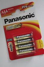 Panasonic Alkaline Pro Power Batterien Blister AAA Micro LR3, 4-16 Stück