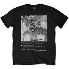 """Les beatles sont volver 8 track """"t-shirt de coupe. neuf sous licence officielle."""