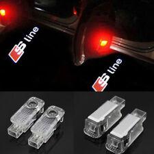 CREE Laser LED Door AUDI sLine Puddle Courtesy Projector Shadow Light Lamp Logo
