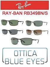 Occhiali da Sole RAYBAN RB3498N/A Sunglasses Ray Ban Classic Metal Man Brillen