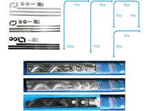 Shower Curtain Rail/Rod, 4 way use,L Shape ,U shape, in White,Chrome or Black