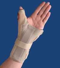 THERMOSKIN 238 & 239 WRIST HAND BRACE W/ THUMB SPICA SPLINT CMC JOINT