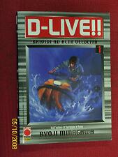 D-LIVE-BRIVIDI  AD ALTA VELOCITA-N°1-EDIZIONE-PANINI-ENTRA DISP.N°1/4-TUTTI