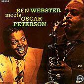 Ben Webster Meets Oscar Peterson, Oscar Peterson, Ben Webster CD   0731452144829