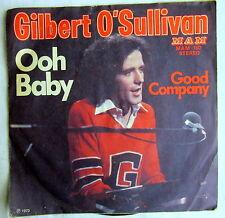 Single (i) - OOH BABY - Gilbert O`Sullivan