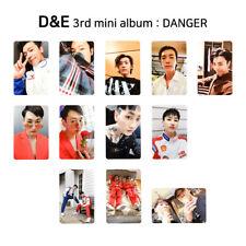 D&E (from SUPER JUNIOR) - 3rd mini album : DANGER Official Photocard