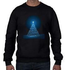 Glowing Christmas Tree Men's Jumper  Sweater - Gift Present Xmas